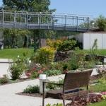 Der Garten im Dietrich-Bonhoeffer-Haus